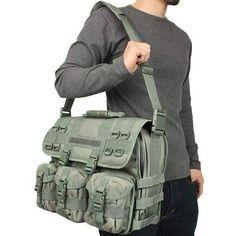 MOLLE Tactical Laptop Briefcase - Rothco