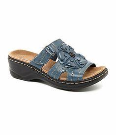 3e6102f1445d Clarks Lexi Sage Casual Sandals leather blue