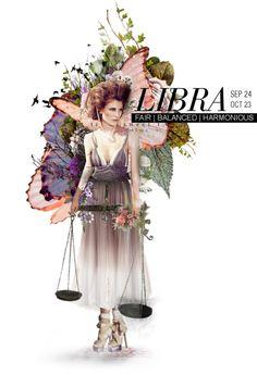 """Libra"" by vintagemonkey on Polyvore"