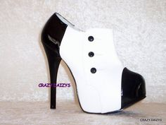 I love these but I would probably kill myself trying to wear them_