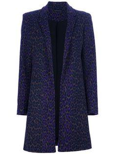 Christopher Kane Leopard-print Crombie Coat - - Farfetch.com