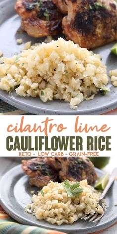 Seriously delicious healthy side dish This Chipotle copycat recipes features cauliflower rice for a lightened up meal Full of great flavor and so easy to make it pairs we. Ketogenic Recipes, Paleo Recipes, Low Carb Recipes, Cooking Recipes, Paleo Food, Ketogenic Diet, Paleo Diet, Healthy Fall Recipes, Soup Recipes