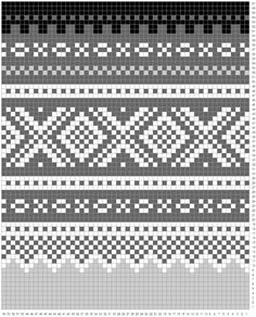 color-pattern for marius sweater Fair Isle Knitting Patterns, Intarsia Patterns, Knitting Stiches, Fair Isle Pattern, Knitting Charts, Lace Knitting, Knitting Socks, Cross Stitch Designs, Cross Stitch Patterns
