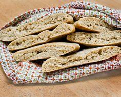 Healthy Whole Wheat Pita Bread (No Oil or Sugar)