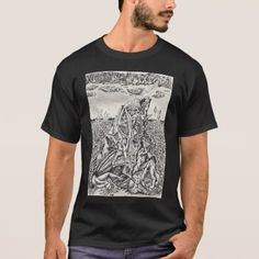 Intimidation by Brian Benson T-Shirt - drawing sketch design graphic draw personalize