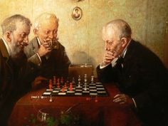 The Chess Player Painting | Links - Welcome to the Chess Museum