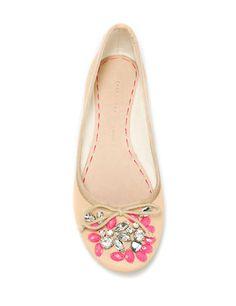 moda, bailarinas, flores, chic, zapatos     www.LaBelleCarte.com