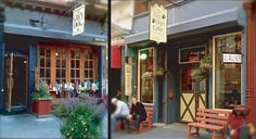 The Grey Dog in the West Village. 33 Carmine St. Grilled chicken, mozzerella & pesto sandwich. Yummy for a rainy day.