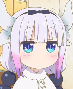 Manga Anime, Anime Art, Kanna Kamui, Kobayashi San Chi No Maid Dragon, Miss Kobayashi's Dragon Maid, Cute Anime Character, Cute Dragons, Cute Anime Pics, Anime Angel