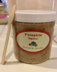 """8 oz of yummy pumpkin heaven!  Made with all natural ingredients that will have you jumping for joy this fall!  Brown Sugar, White Sugar, Carrier Oil of your choice, Pure Jojoba Oil, Vitamin E Oil, Pumpkin Scent & a dash of Cinnamon Bark Pure Essential Oil.      Can't get enough pumpkin? Check out my Pumpkin Set listed under """"Bundles.""""    Entire Shop ON SALE! 16% off with Code """"FALL16""""  GIFT BAG & TAG Included.  Notify me at time of purchase which you prefer.    Jojoba Oil: This oil is the…"""