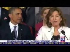 WGHP-NC: In A Tough Race, Kay Hagan Is Ducking Out On Obama's NC Event...if he is such a great president and the standard bearer for the liberal/socialist/progressive/democrat voters then she should be proud to go down in flames at his side
