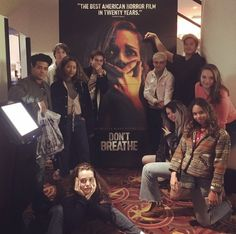 13 Reasons Why cast go see Dylan Minnette's film Don't Breathe