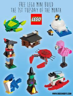 LEGO mini build archive