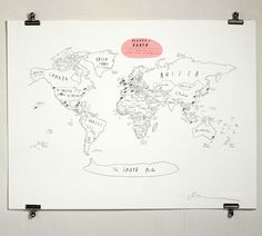 places on earth map.