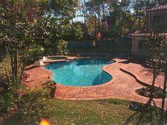brick around pool   pools   pinterest   pools, bricks and om
