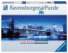 Ravensburger Puzzle - Twilight New York (1000Pcs.) (15050)  Manufacturer: Ravensburger Enarxis Code: 015905 #toys #puzzle #Ravensburger #panorama #New_York