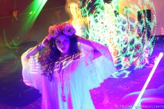 Vanessa Hudgens Is vistied by a holographic Laura New BG5 100% UnEdited Long Exposure Photography By: Harmonic Light