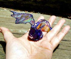 "Violet ""FyreFlytt"" OOAK sculpt  http://dreamingtreestudio.com/Gallerypg5.html"
