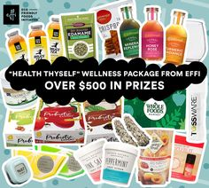"""Heath Thyself"" Wellness Package from EFFi Foods. ""Heath Thyself"" Wellness #Giveaway One lucky winner will take home over $500 in health and wellness prizes.  https://wn.nr/DEwTPy"