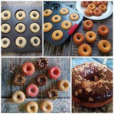 Minion, Doughnut, Breakfast Recipes, Muffin, Menu, Sweets, Foods, Cakes, Menu Board Design