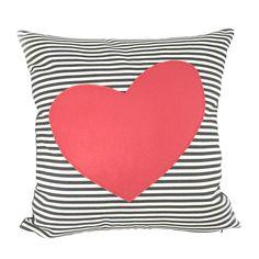 Valentines heart pillow