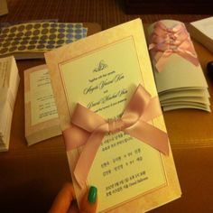 bilingual wedding invitation ideas Wedding Invitations