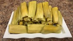 Easiest Way to Make Sweet Corn Tamales - YouTube Sweet Tamales, Corn Tamales, Sweet Corn, Few Ingredients, Celery, Vegetables, Easy, Youtube, How To Make