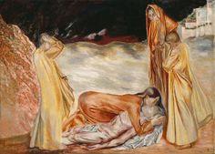 Pietà - Henrik Sørensen Goblin, Troll, Vikings, Fairy Tales, Romantic, Painting, Art, The Vikings, Art Background