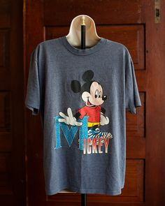 Mickey Mouse Tshirt - Large on Etsy, $30.00
