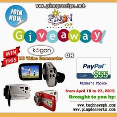 Kogan 12mp HD Video Camcorder / $55 Paypal Cash Giveaway (Worldwide - April 27)