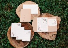 Southern Garden Bow Tie Wedding:  Chirp-paperie designed wedding invitations, logos, art work and branding