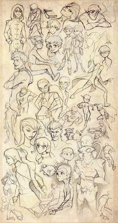 Young Justice Sketch Blitz by *dou-hong on deviantART