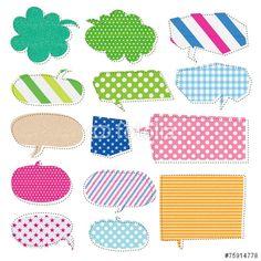 ベクター: ナチュラル素材・吹き出し点 Pop Design, Beach Mat, Balloons, Outdoor Blanket, Scrap, Banner, Clip Art, Kids Rugs, Illustration