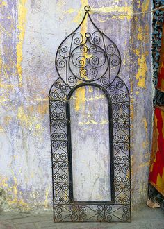 Mirror frame, Tangier, Morocco | par fam_nordstrom