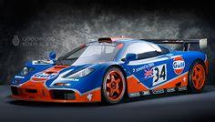 Gulf McLaren F 1 GTR
