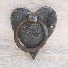 SG Heart drawer pull