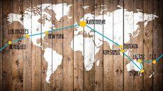 Rejserute - Rejs jorden runde med andre unge