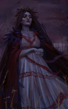 Morena, Slavic goddess of death by Hhabasi