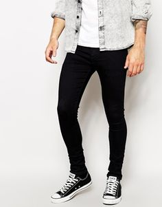 ASOS Extreme Super Skinny Jeans in Indigo  I may have pinned this before but so good buying them again haha!