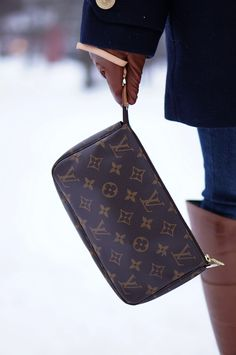Louis Vuitton Pochette Monogram. In my collection