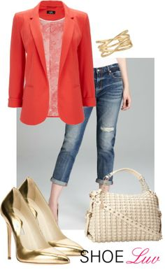How to Dress Up Boyfriend Jeans this Spring