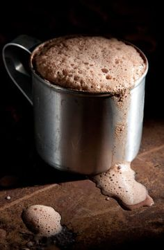 Warm your spirits on cold November nights with this cinnamon hot chocolate. The recipe calls for Mexican chocolate tablets such as Abuelita, which you can find at most grocery stores. Recipe here.