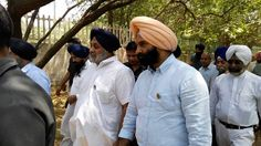 Deputy CM Mr. Sukhbir Singh Badal Ji along with Mr. Manjit Singh and me, inspected the construction work of Baba Banda Singh Bahadur Memorial Park at Mehrauli, New Delhi today. Baba Banda Singh fought valiantly against the tyrant Mughal rulers and taught us the lesson to fight against the injustice to help the destitute. #ManjinderSinghSirsa #AkaliDal #Sikhs