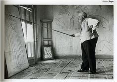 Robert Capa / Matisse