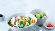 Rezept: Miso-Gemüse-Suppe mit Hähnchen