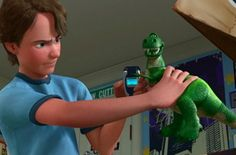 """The street sign above Andy's closet reads """"W. Cutting"""" — which was the street where Pixar was originally headquartered. 