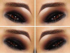 nice 50 Идей, как сделать смоки айс для карих глаз — Пошаговое фото макияжа