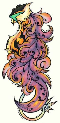 Raikou >> This would make for a cool tattoo