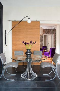 A flamboyant home in LeMarais - desire to inspire - desiretoinspire.net