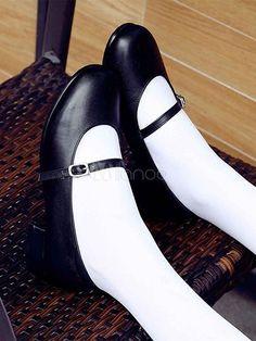 Pretty Shoes, Cute Shoes, School Uniform Outfits, Lolita Shoes, High Heels, Shoes Heels, Mary Jane Shoes, Lolita Fashion, Sock Shoes